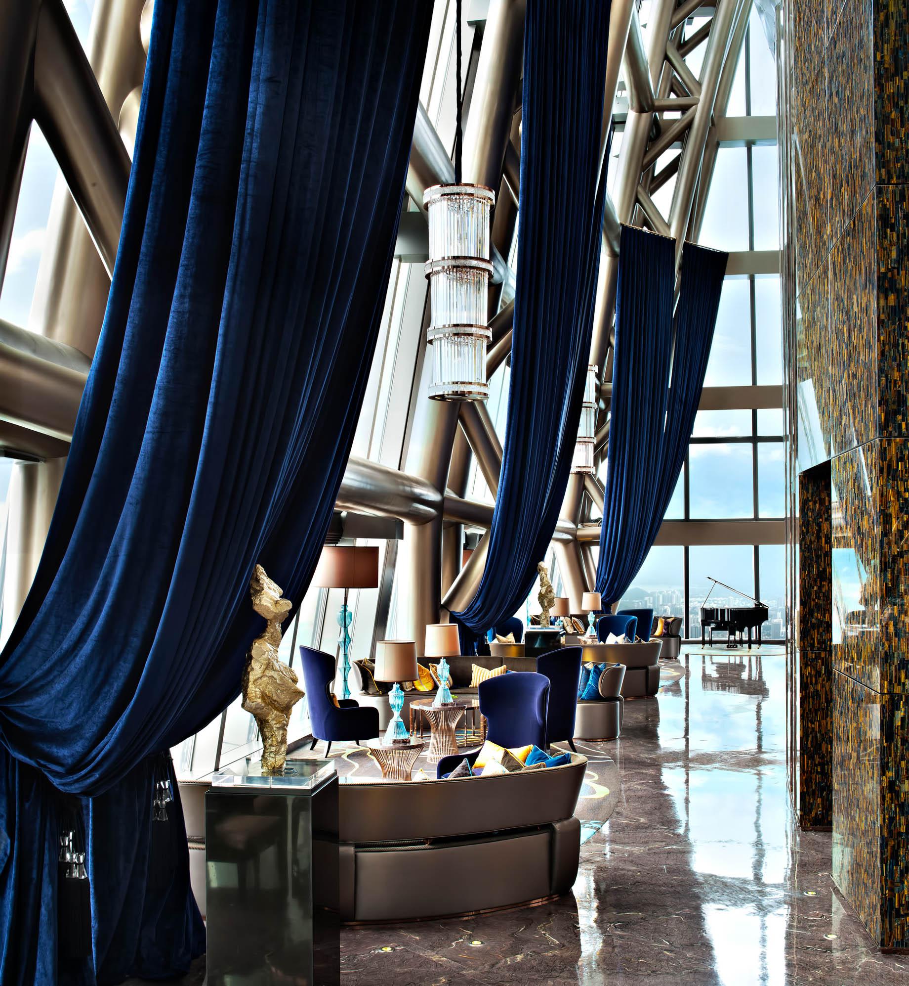 The St. Regis Shenzhen Luxury Hotel - Shenzhen, China - The Drawing Room