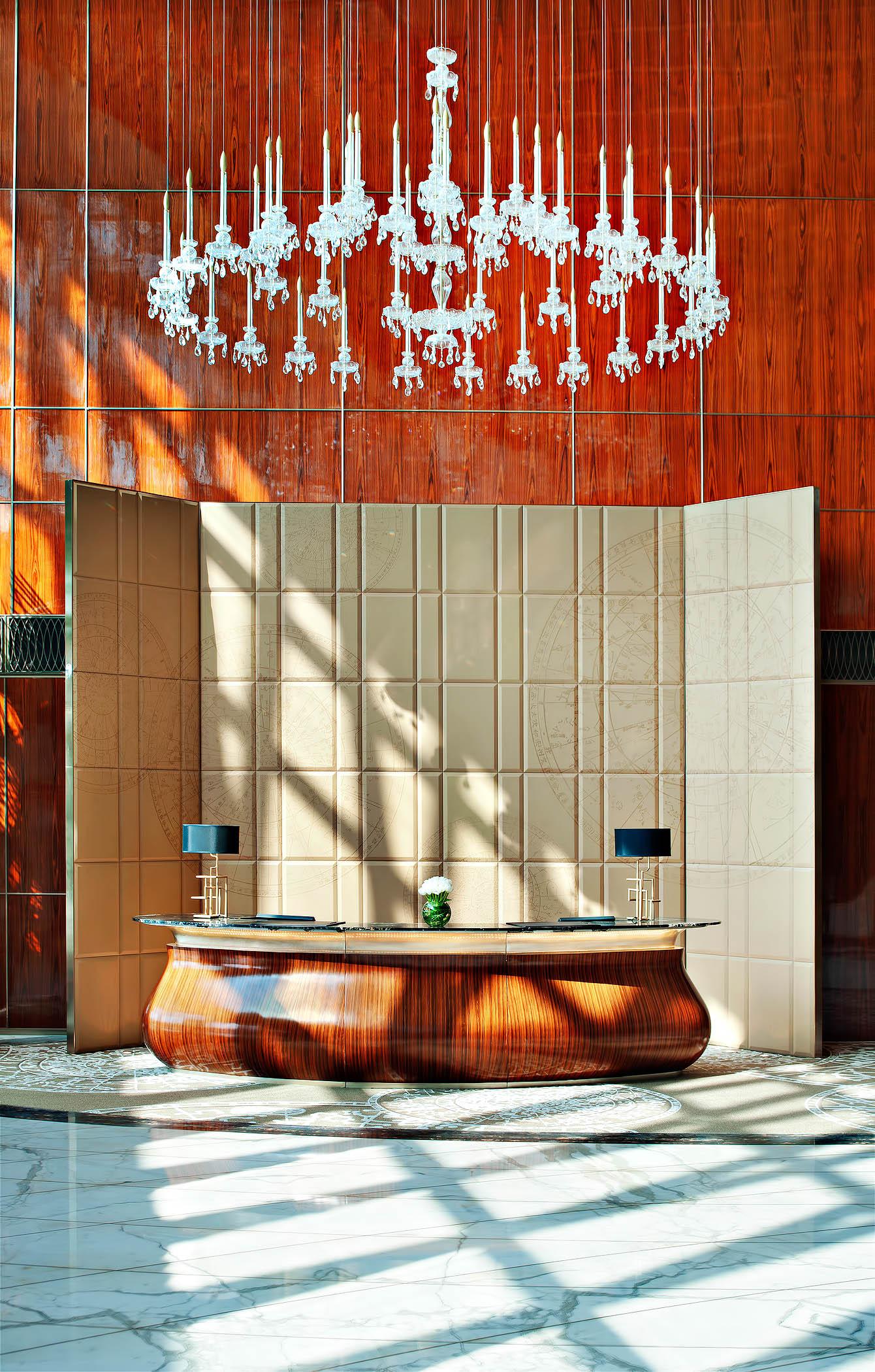 The St. Regis Tianjin Luxury Hotel - Tianjin, China - Lobby Desk