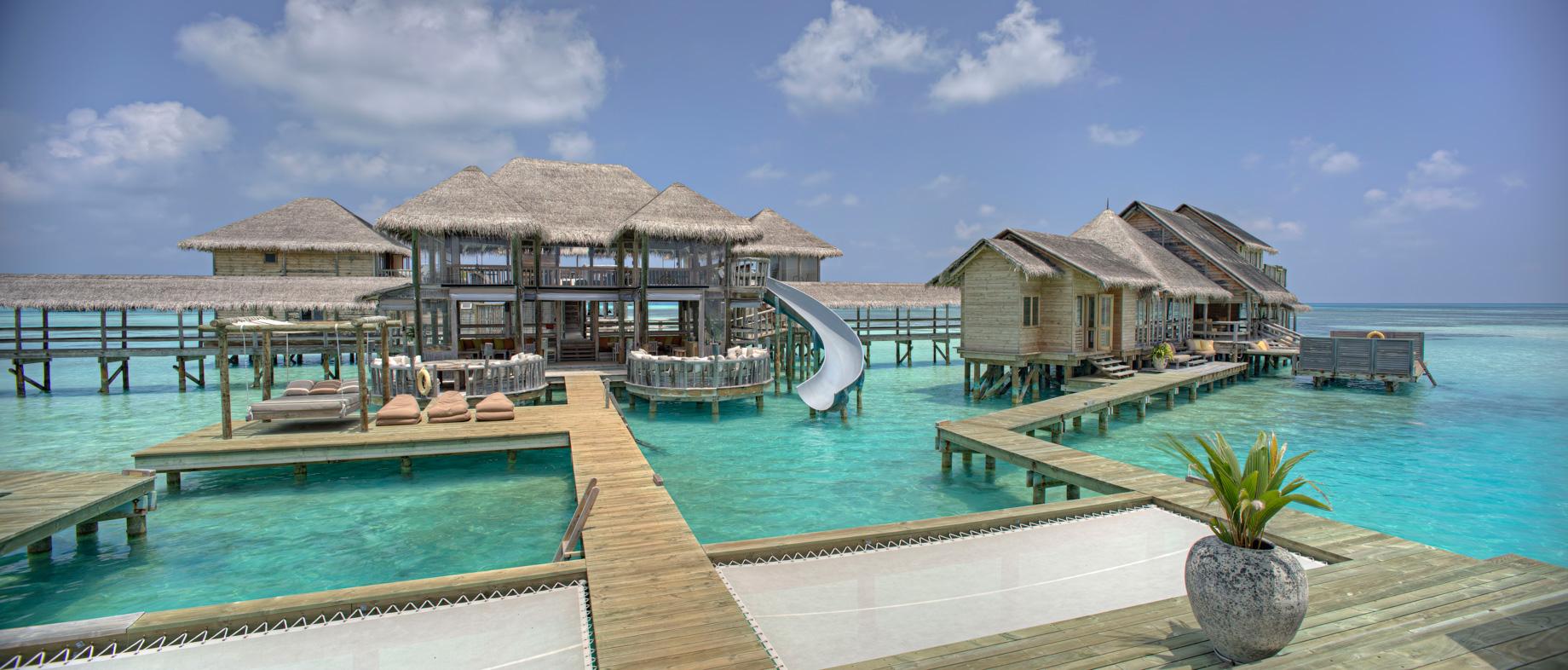 Gili Lankanfushi Luxury Resort - North Male Atoll, Maldives - The Private Reserve Boardwalk