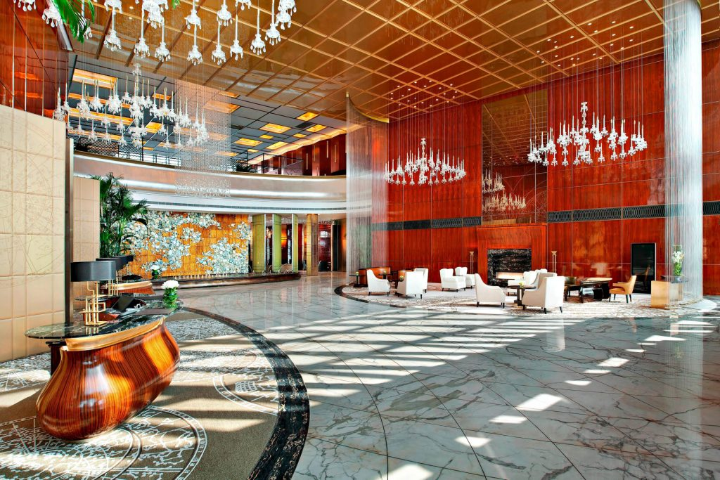 The St. Regis Tianjin Luxury Hotel - Tianjin, China - Lobby