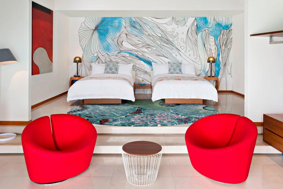 W Maldives Luxury Resort - Fesdu Island, Maldives - Extreme Wow Ocean Escape Interior