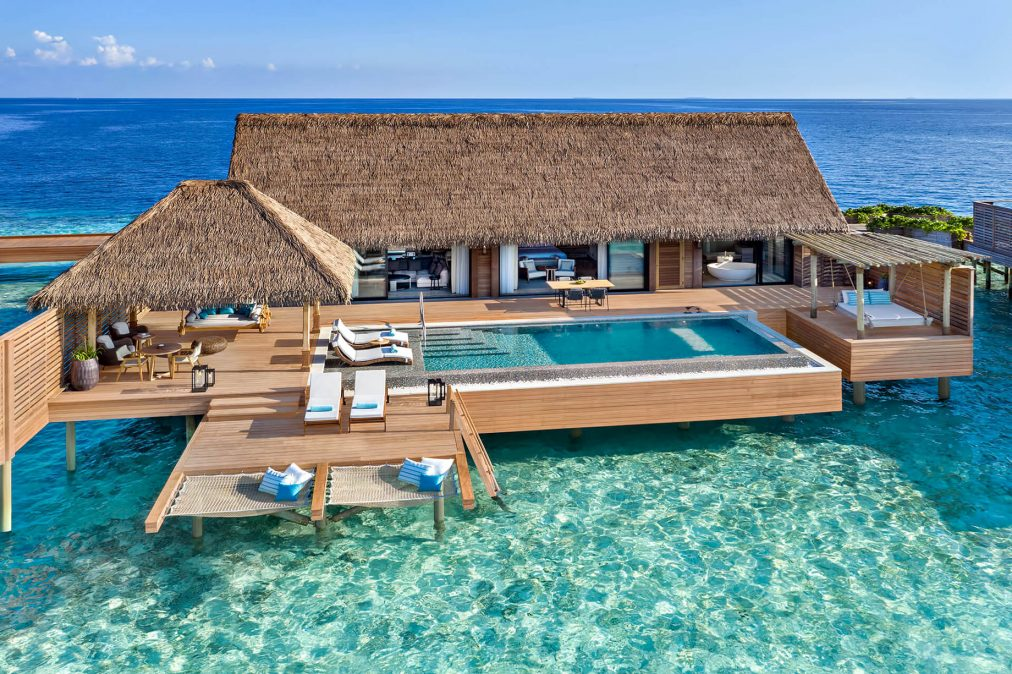Waldorf Astoria Maldives Ithaafushi Luxury Resort - Ithaafushi Island, Maldives - Grand Overwater Villa with Infinity Pool
