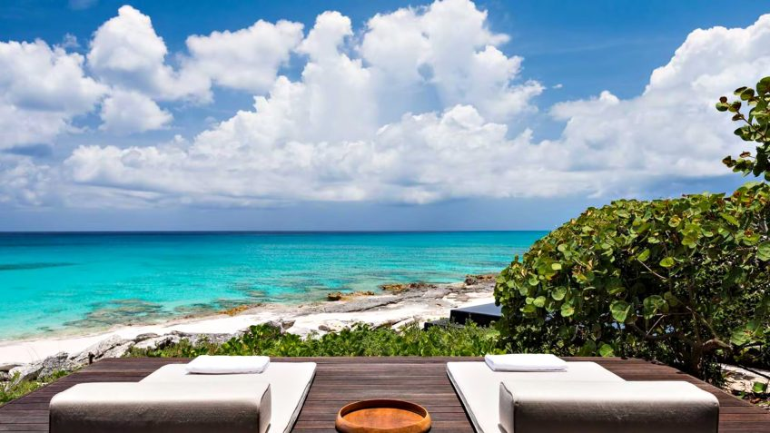 Amanyara Luxury Resort - Providenciales, Turks and Caicos Islands - Beachfront Oceanview Deck