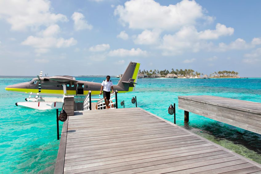 Cheval Blanc Randheli Luxury Resort - Noonu Atoll, Maldives - Private Island Resort Plane Arrival