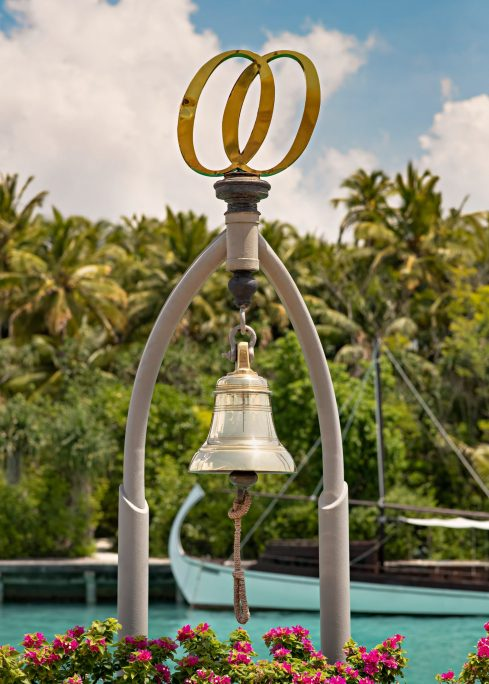 One&Only Reethi Rah Luxury Resort - North Male Atoll, Maldives - Arrival Dock Bell
