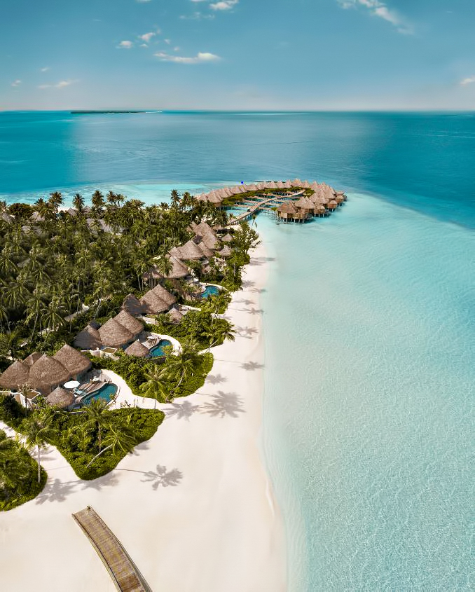 The Nautilus Maldives Luxury Resort - Thiladhoo Island, Maldives - Perched Over Turquoise Waters