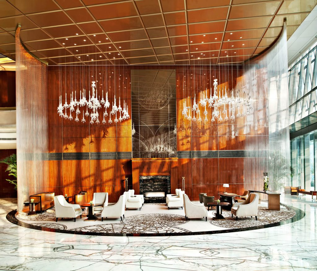The St. Regis Tianjin Luxury Hotel - Tianjin, China - Lobby Seating