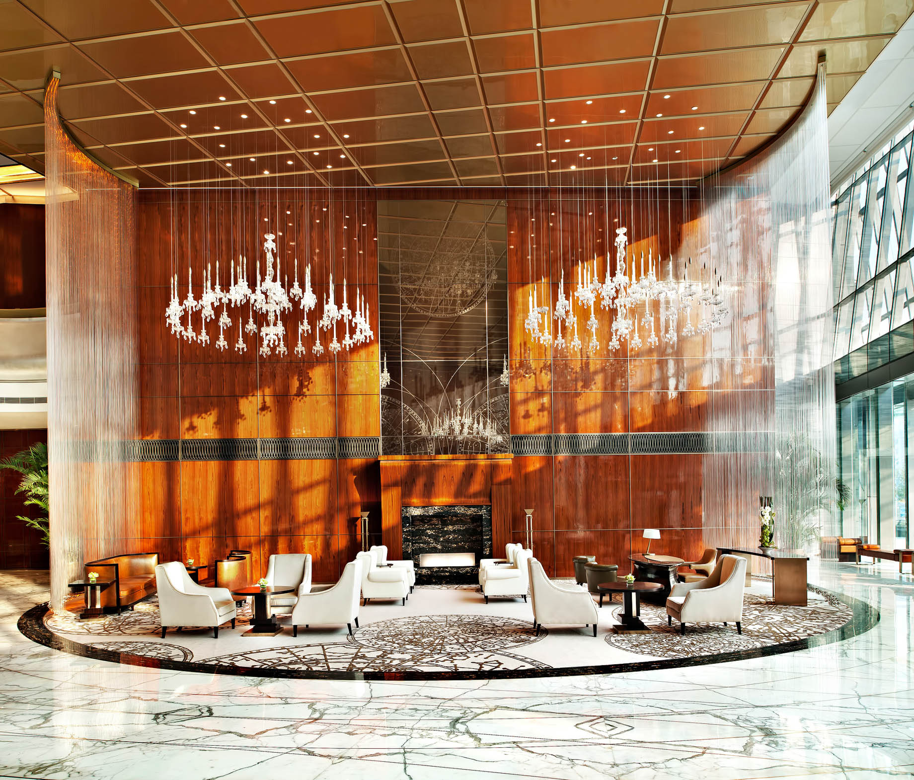 The St. Regis Tianjin Luxury Hotel – Tianjin, China – Lobby Seating