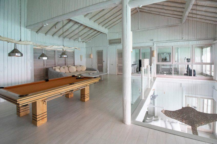 Soneva Jani Luxury Resort - Noonu Atoll, Medhufaru, Maldives - 4 Bedroom Water Reserve Villa Upstairs Recreation Area