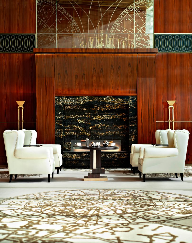 The St. Regis Tianjin Luxury Hotel - Tianjin, China - Lobby Drawing Room