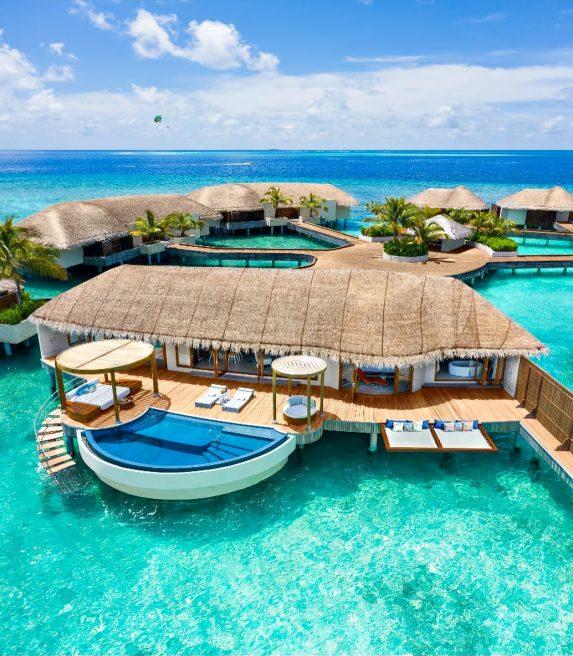 W Maldives Luxury Resort - Fesdu Island, Maldives - Wow Ocean Escape Bungalow
