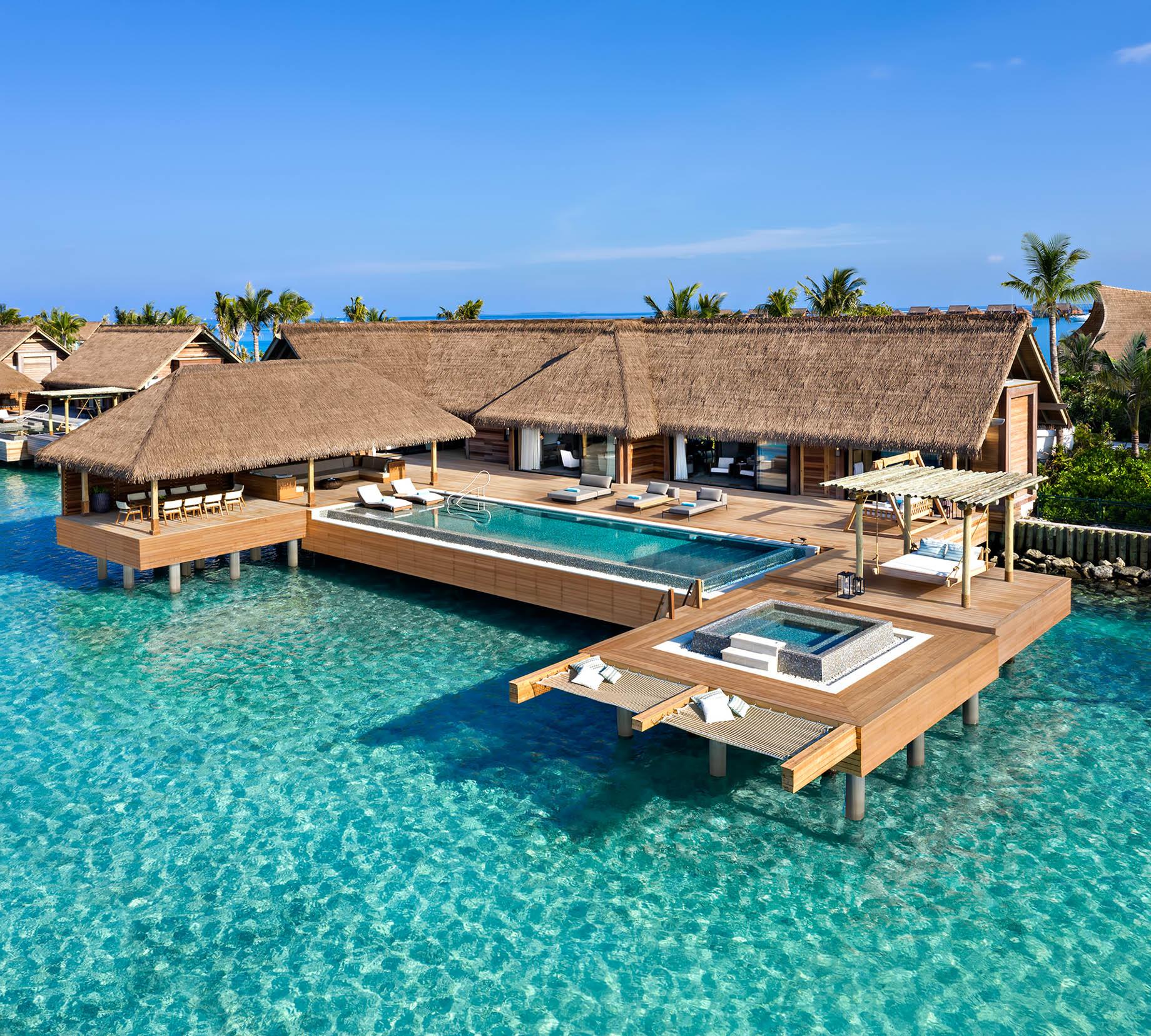 Waldorf Astoria Maldives Ithaafushi Luxury Resort – Ithaafushi Island, Maldives – Two Bedroom Reef Villa