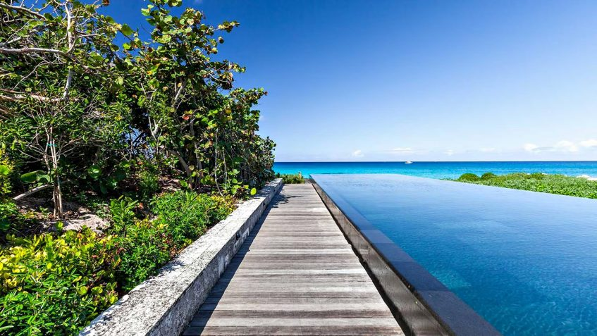 Amanyara Luxury Resort - Providenciales, Turks and Caicos Islands - Artist Ocean Villa Infinity Pool Ocean View