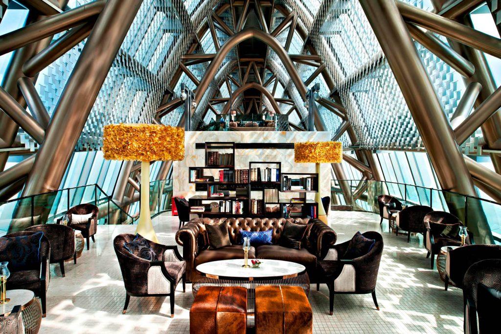 The St. Regis Shenzhen Luxury Hotel - Shenzhen, China - Library