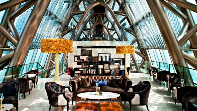 The St. Regis Shenzhen Luxury Hotel - Shenzhen, China - Library