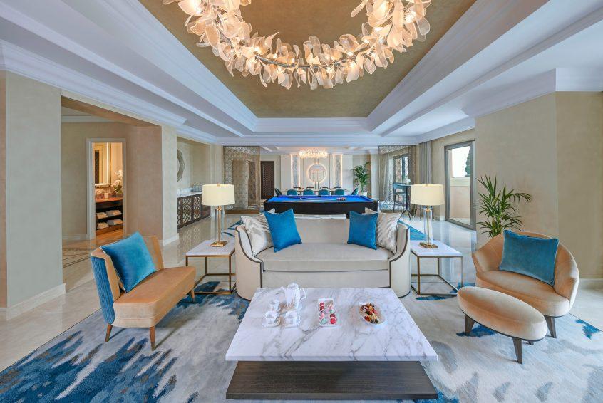 Atlantis The Palm Luxury Resort - Crescent Rd, Dubai, UAE - Presidential Suite Living Room