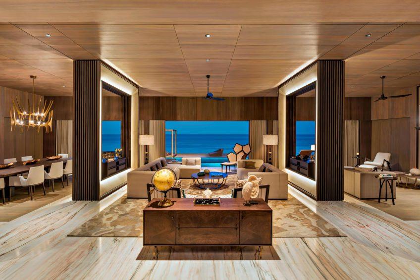 The St. Regis Maldives Vommuli Luxury Resort - Dhaalu Atoll, Maldives - John Jacob Astor Estate Living Room