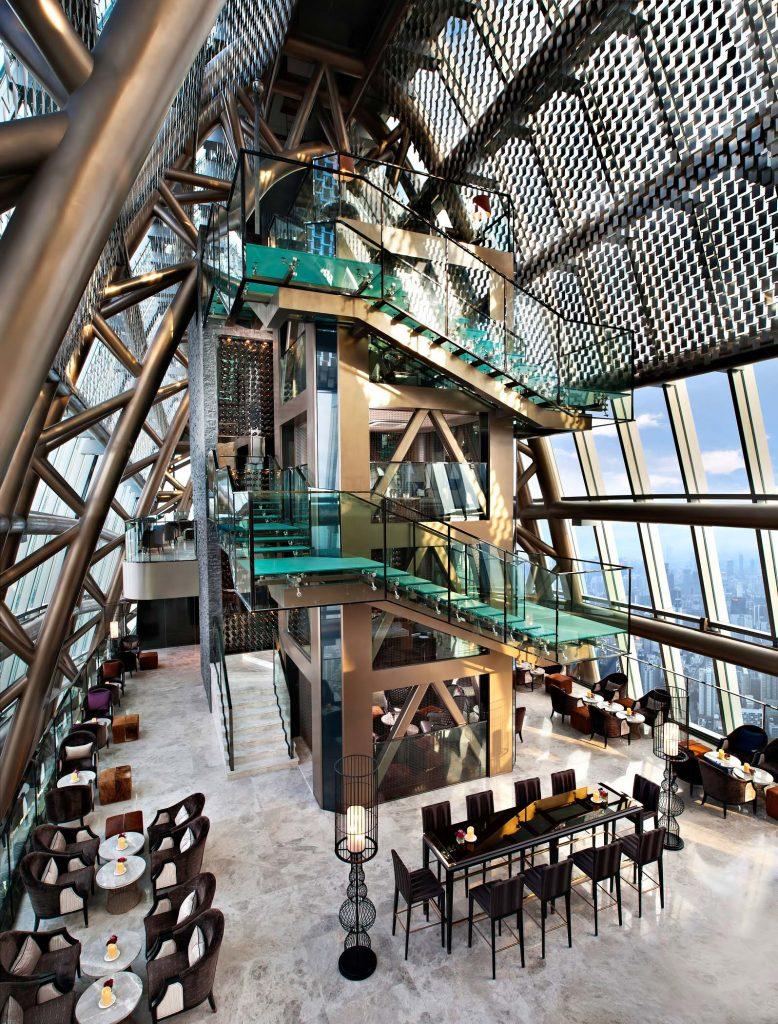 The St. Regis Shenzhen Luxury Hotel - Shenzhen, China - Atrium