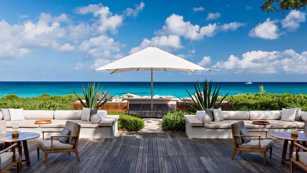 Amanyara Luxury Resort - Providenciales, Turks and Caicos Islands - Artist Ocean Villa Deck Ocean View