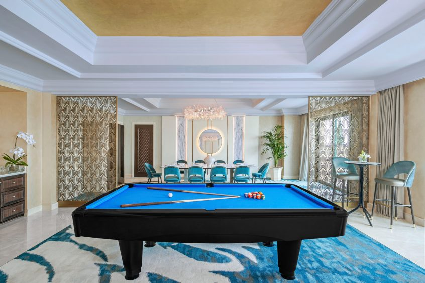 Atlantis The Palm Luxury Resort - Crescent Rd, Dubai, UAE - Presidential Suite Pool Table