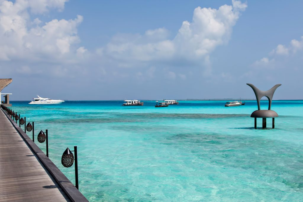 Cheval Blanc Randheli Luxury Resort - Noonu Atoll, Maldives - Private Island Resort Overwater Boardwalk View