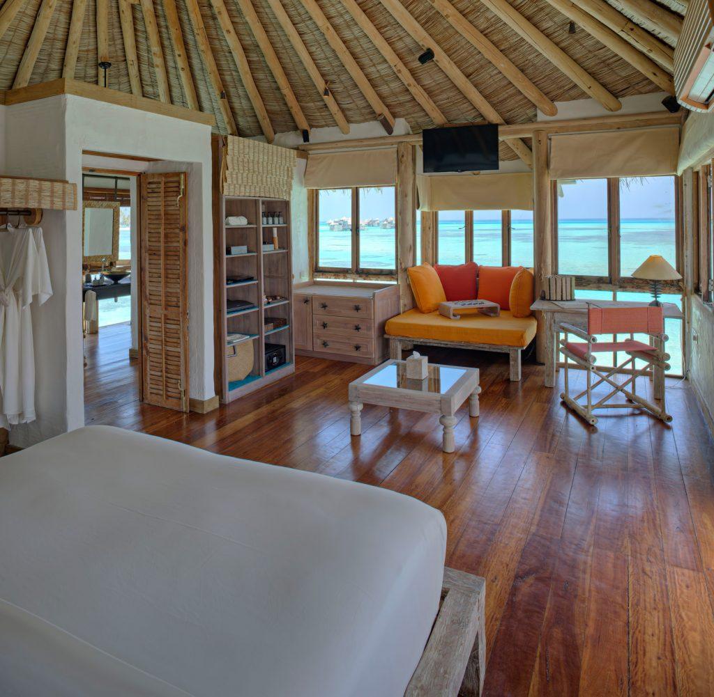Gili Lankanfushi Luxury Resort - North Male Atoll, Maldives - The Private Reserve Guest Bedroom