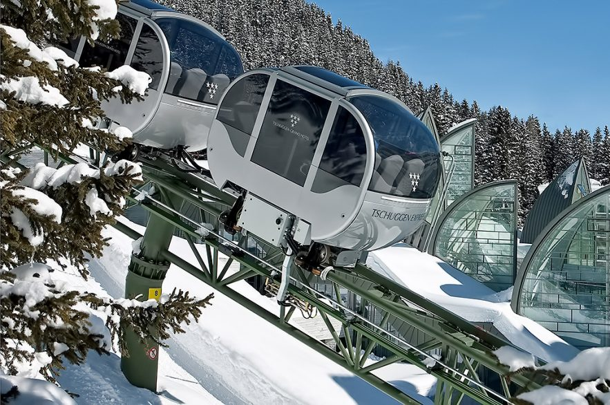 Tschuggen Grand Luxury Hotel - Arosa, Switzerland - Tschuggen Express