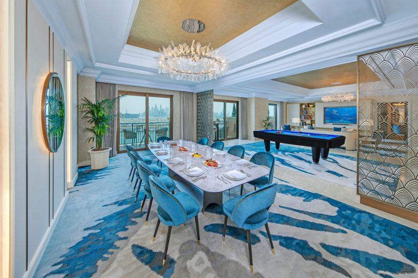 Atlantis The Palm Luxury Resort - Crescent Rd, Dubai, UAE - Presidential Suite Dining Lounge Area