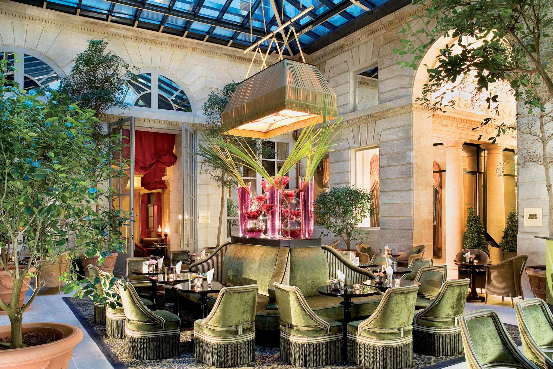 InterContinental Bordeaux Le Grand Hotel – Bordeaux, France – Bar l'Orangerie Atrium