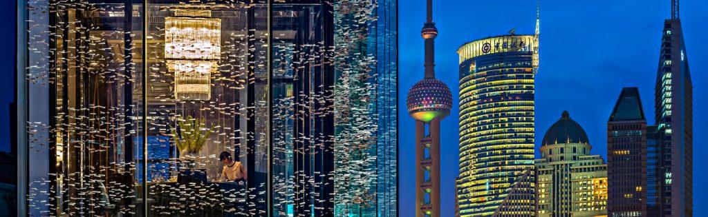 Regent Shanghai Pudong Luxury Hotel - Shanghai, China - Restaurant View