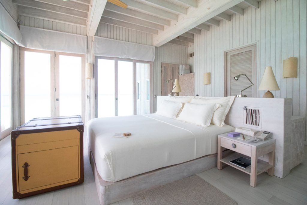 Soneva Jani Luxury Resort - Noonu Atoll, Medhufaru, Maldives - 4 Bedroom Water Reserve Villa Bedroom