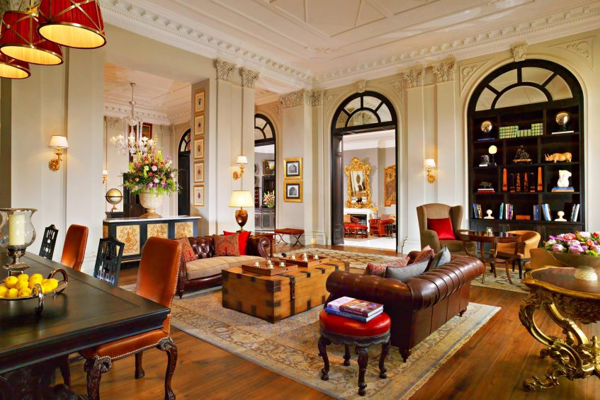 The St. Regis Florence Luxury Hotel - Florence, Italy - Library