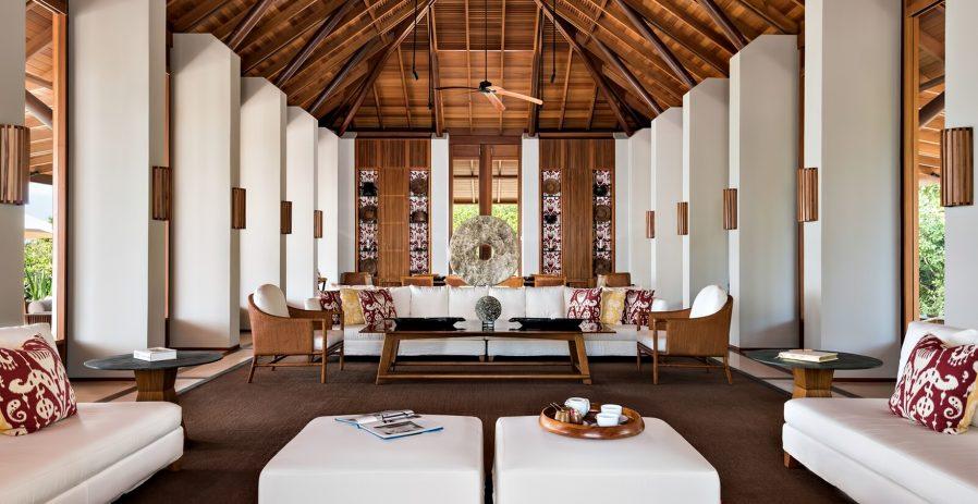 Amanyara Luxury Resort - Providenciales, Turks and Caicos Islands - Artist Ocean Villa Living Room