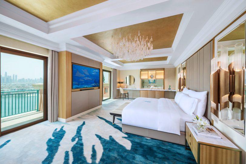 Atlantis The Palm Luxury Resort - Crescent Rd, Dubai, UAE - Presidential Suite Bedroom