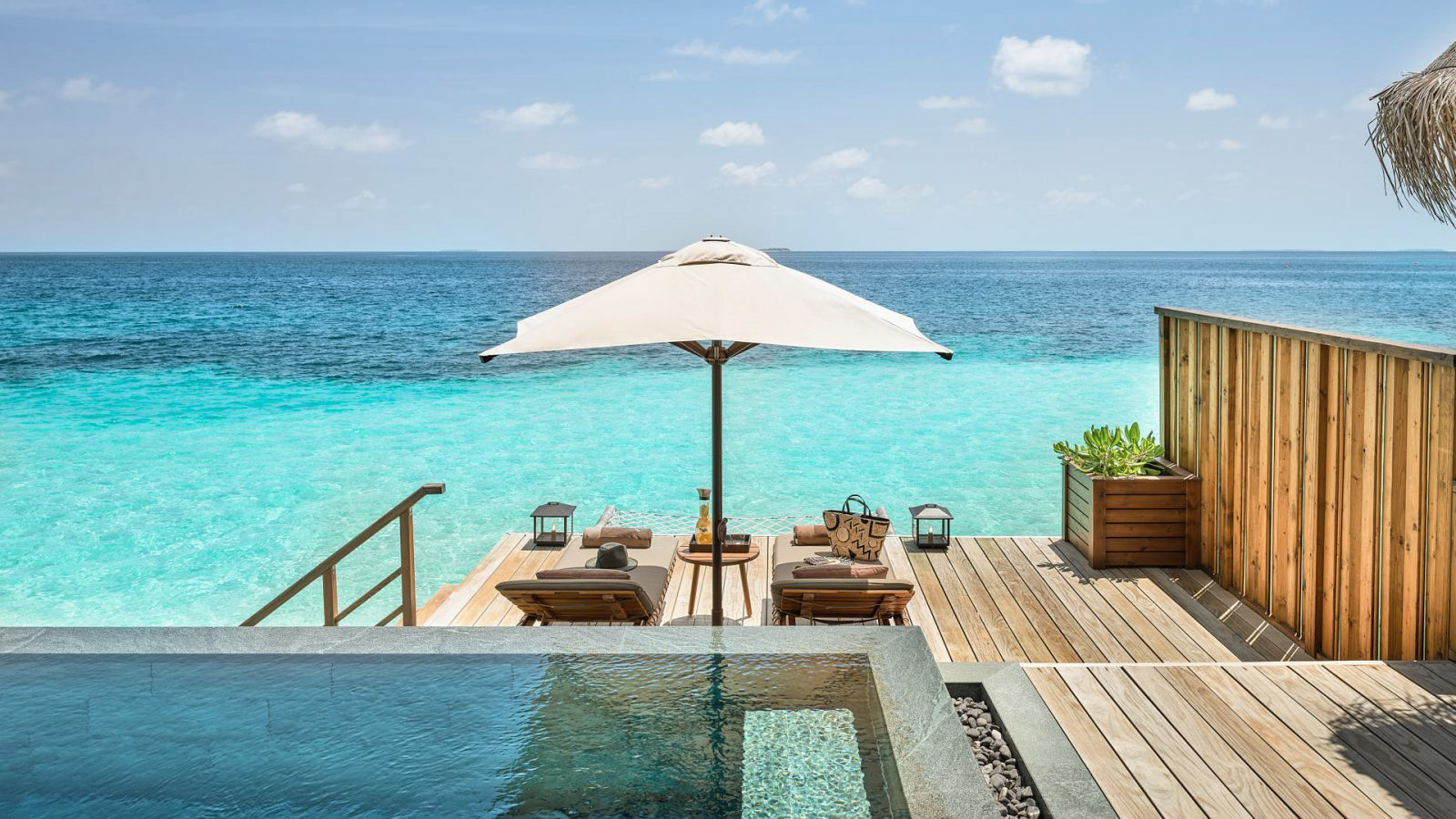 Joali Maldives Luxury Resort – Muravandhoo Island, Maldives – Water Villa Infinity Pool Deck
