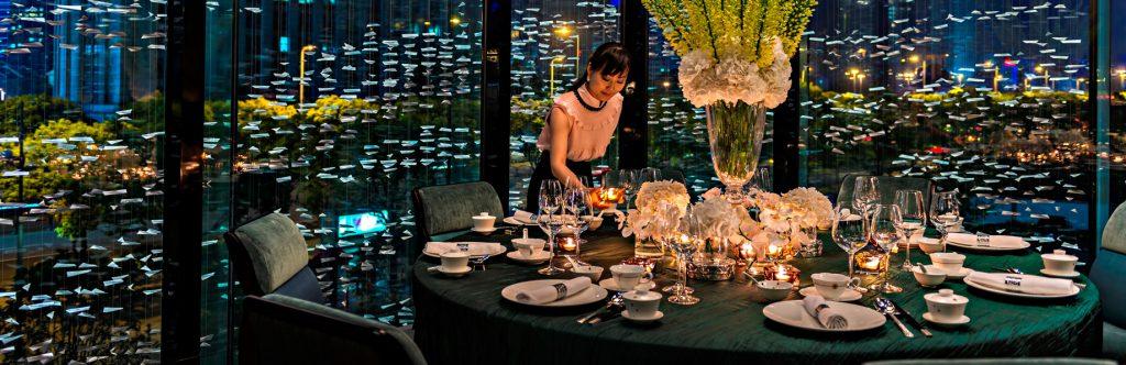 Regent Shanghai Pudong Luxury Hotel - Shanghai, China - Restaurant