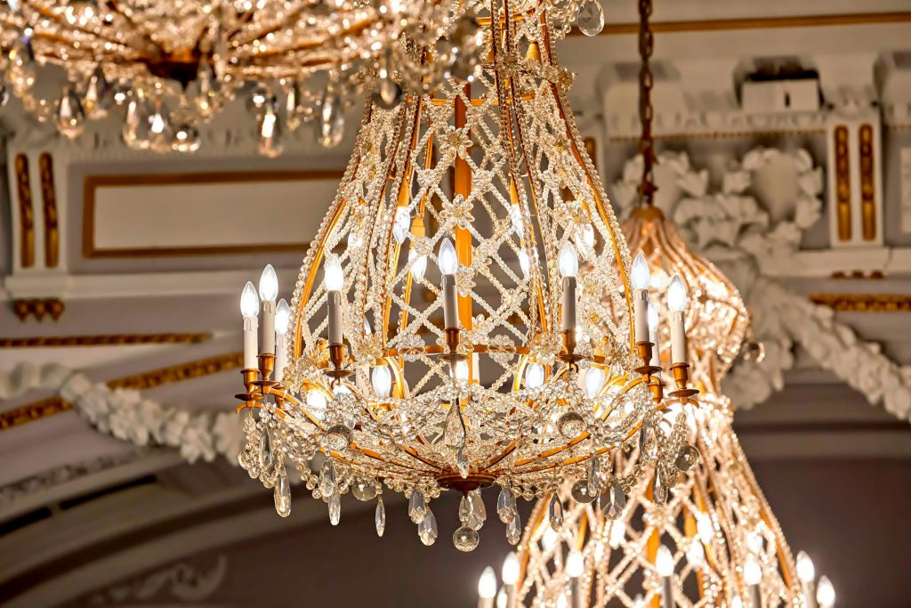 The St. Regis Rome Luxury Hotel - Rome, Italy - Historical Chandelier