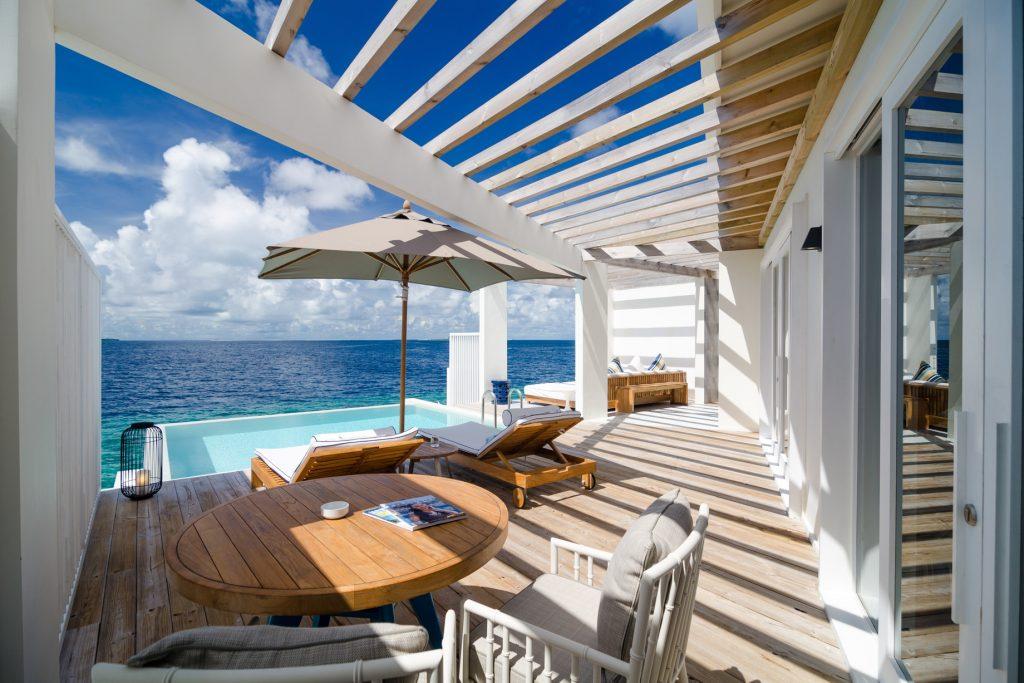 Amilla Fushi Luxury Resort and Residences - Baa Atoll, Maldives - Reef Water Villa Pool Deck