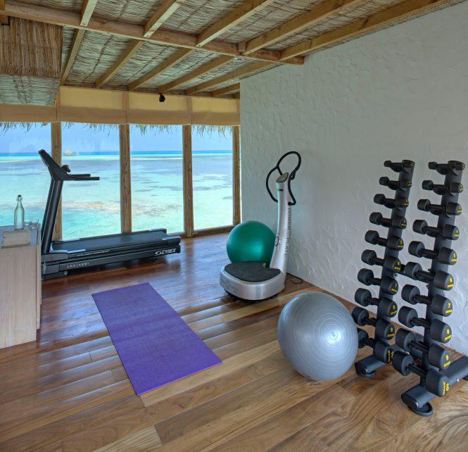 Gili Lankanfushi Luxury Resort - North Male Atoll, Maldives - The Private Reserve Gym