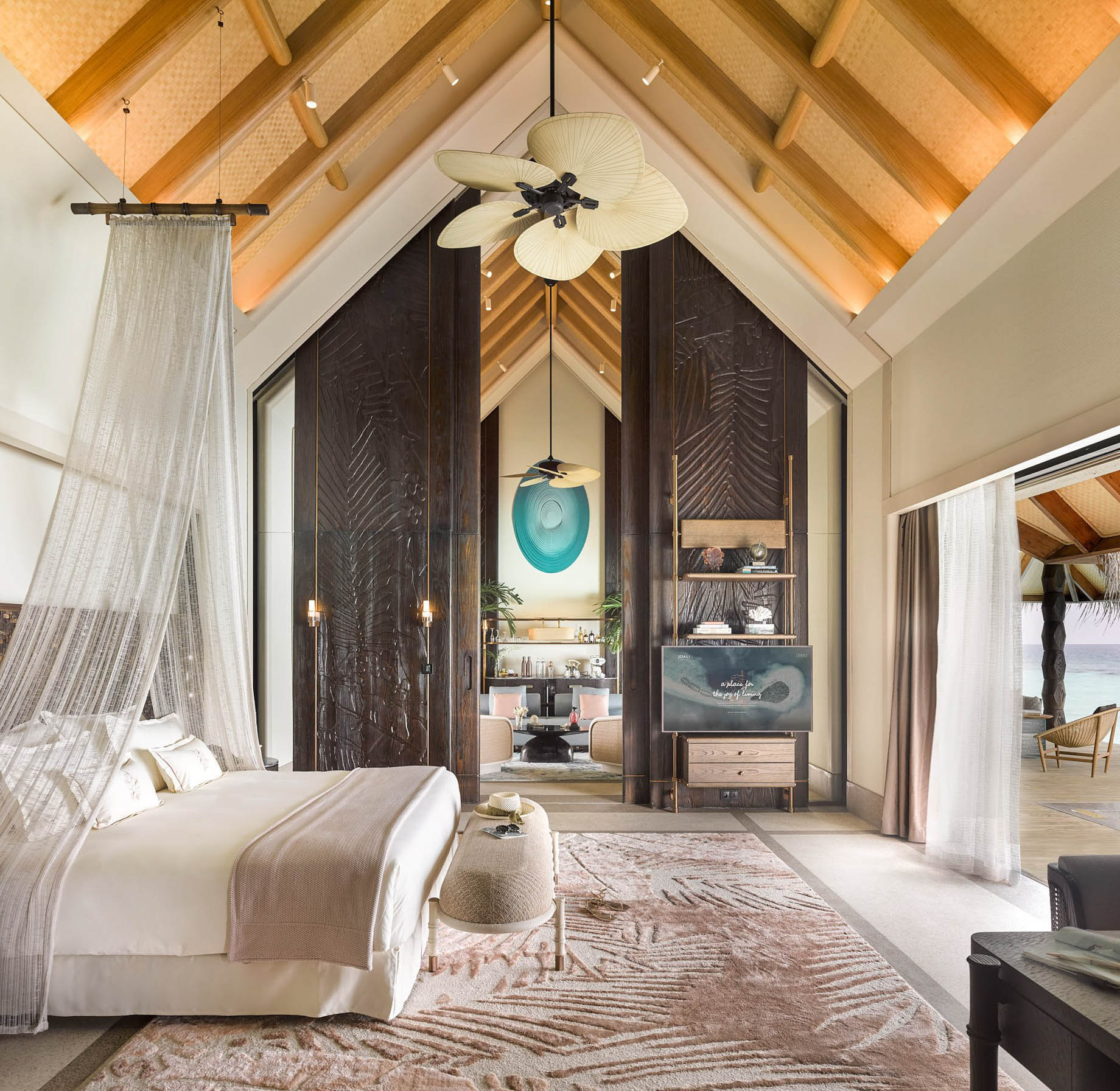 Joali Maldives Luxury Resort - Muravandhoo Island, Maldives - Water Villa Master Bedroom