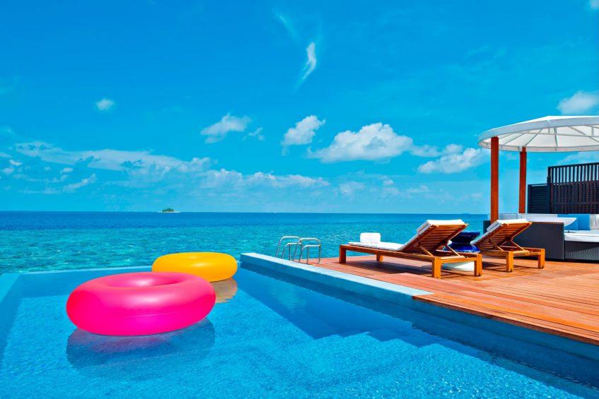 W Maldives Luxury Resort - Fesdu Island, Maldives - Fabulous Overwater Oasis Bungalow Pool