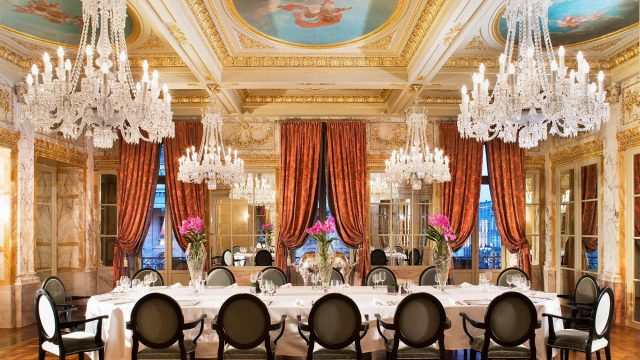 InterContinental Bordeaux Le Grand Hotel - Bordeaux, France - Elegant Refined Dining