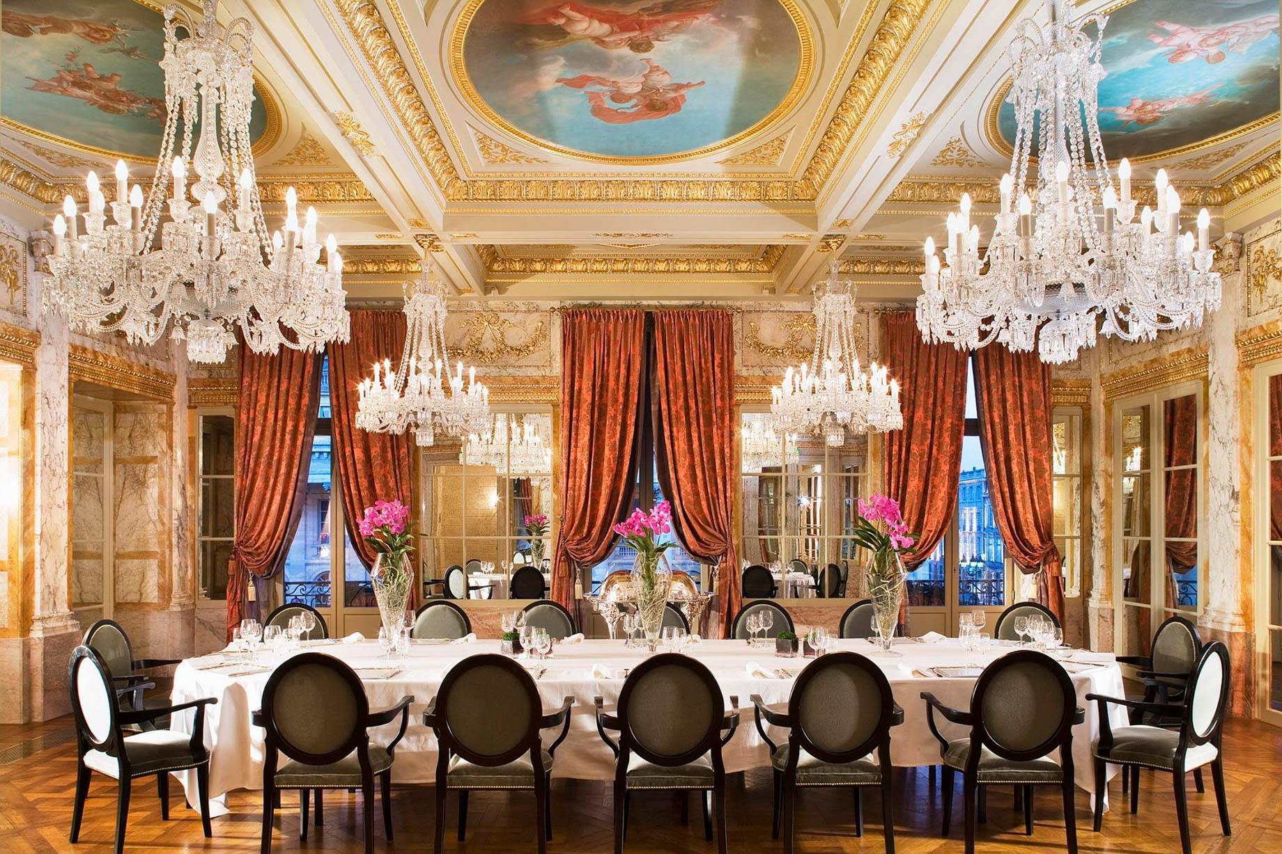 InterContinental Bordeaux Le Grand Hotel - Bordeaux, France - Elegant Refined Dining