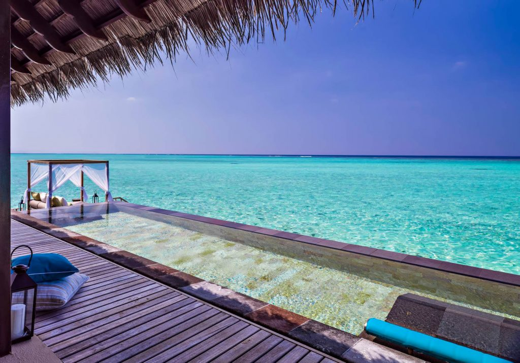 One&Only Reethi Rah Luxury Resort - North Male Atoll, Maldives - Overwater Villa Infinity Pool