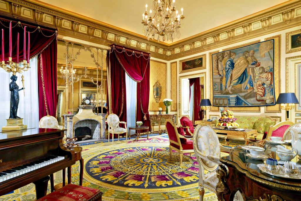 The St. Regis Rome Luxury Hotel - Rome, Italy - Royal Suite