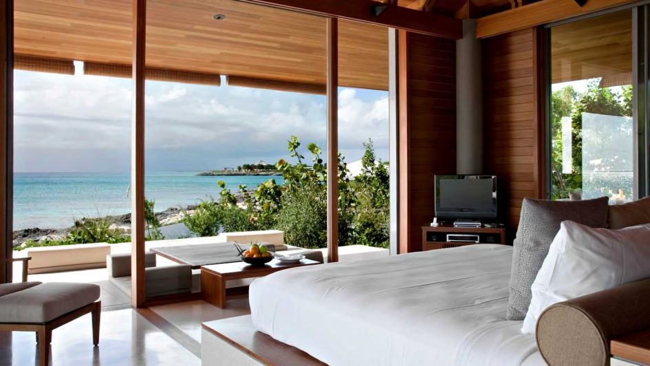 Amanyara Luxury Resort - Providenciales, Turks and Caicos Islands - Artist Ocean Villa Bedroom