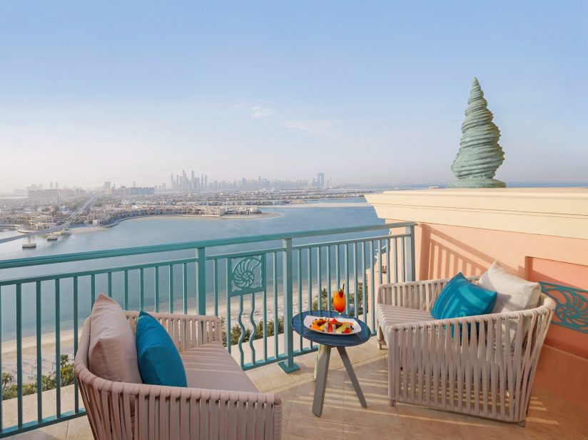 Atlantis The Palm Luxury Resort - Crescent Rd, Dubai, UAE - Presidential Suite Balcony