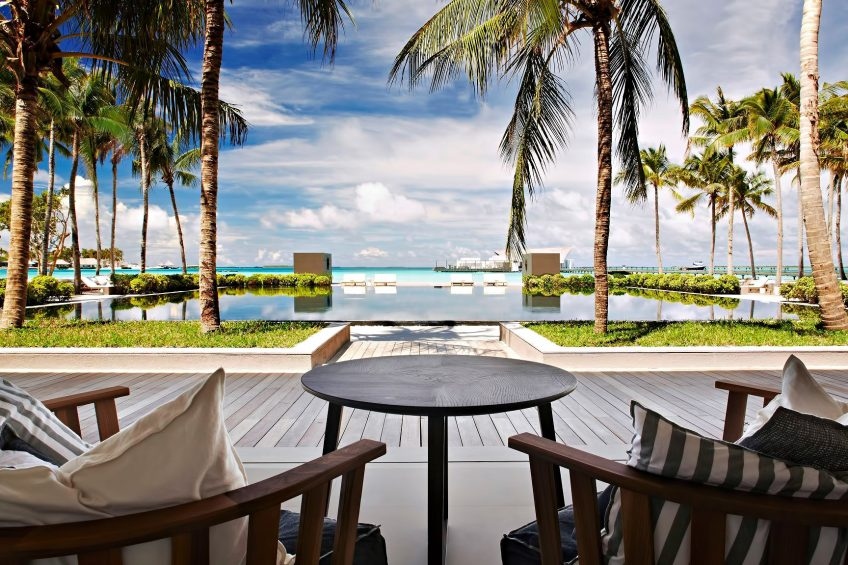 Cheval Blanc Randheli Luxury Resort - Noonu Atoll, Maldives - Private Island Resort Pool View