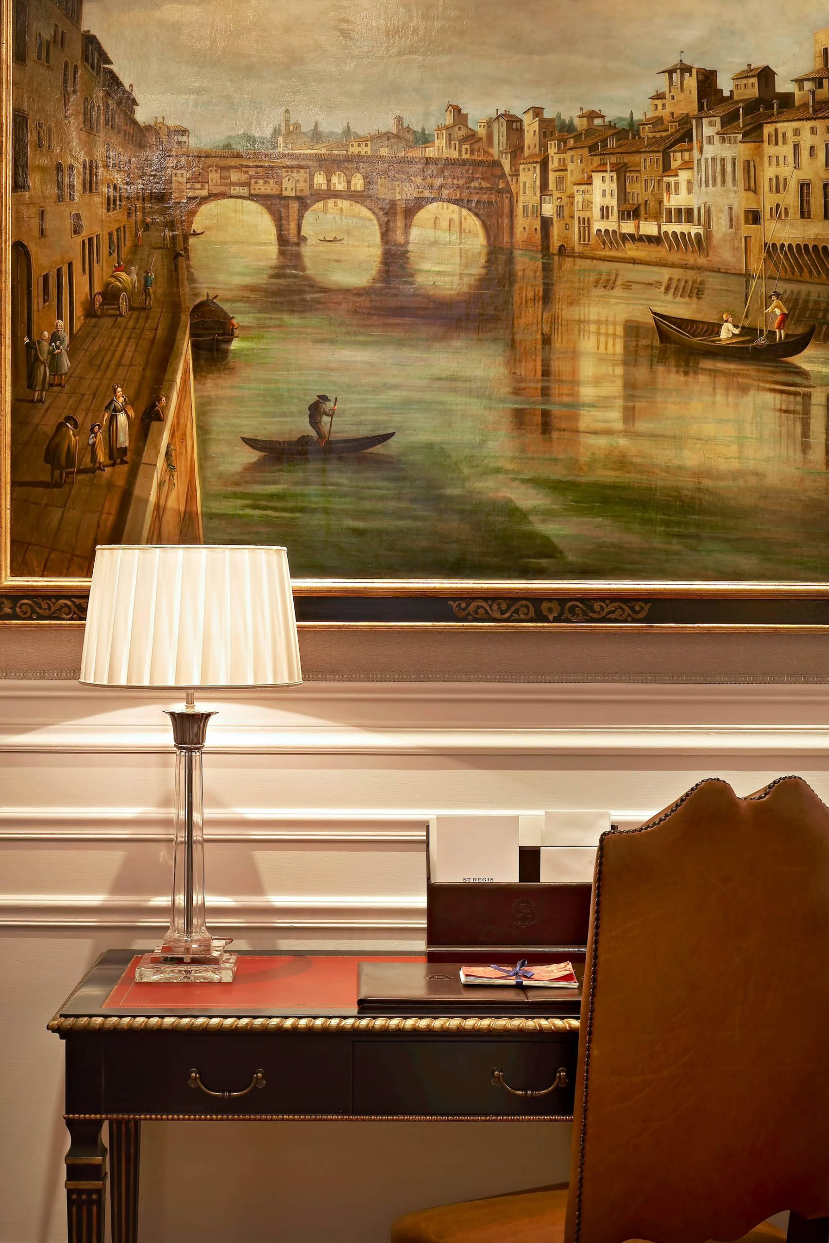 The St. Regis Florence Luxury Hotel – Florence, Italy – Deluxe Room Medici style detail