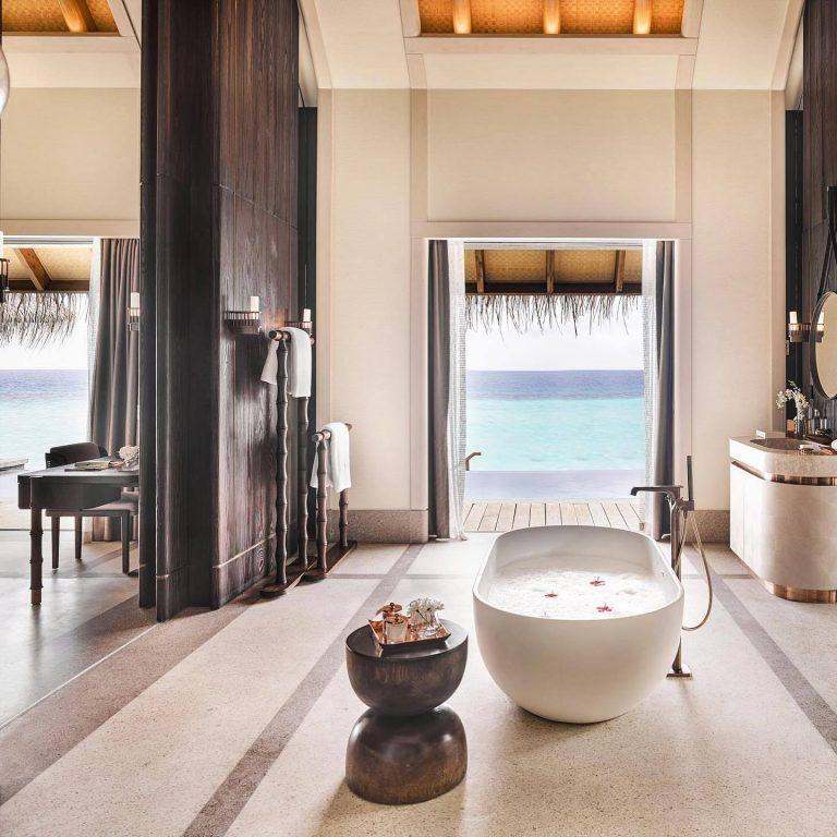 Joali Maldives Luxury Resort - Muravandhoo Island, Maldives - Water Villa Bathroom View